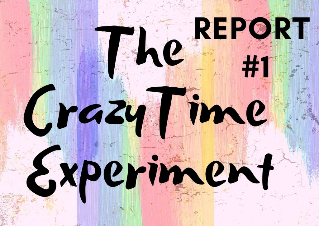 crazy tie experiment report #1