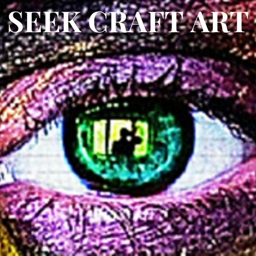 seek craft art, mixed media art, buy art, become more creative, raise your intuition