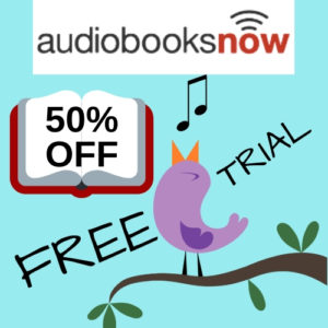 audiobooksnow, book club, free trial