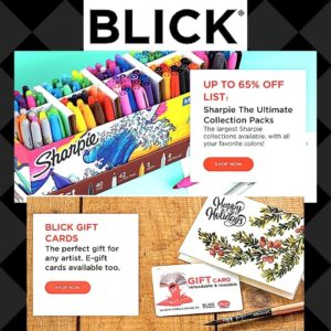 dick blick art supplies